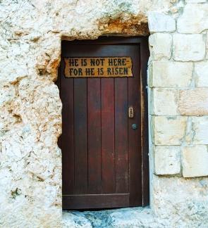 Entrance to the Gethsemane Garden in Jerusalem Israel
